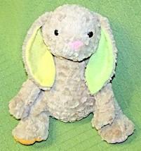 "Animal Adventure Tinktoos Rabbit Bunny 12"" Brown Pastel Green Yellow Ears Paws - $14.03"