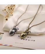 """""""Hannibal""""  heart  Necklace Rope Chain Netvibes heart Pendant  Necklace ... - $8.49"""