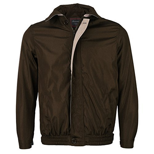 Maximos USA Men's Microfiber Golf Sport Water Resistant Zip Up Windbreaker Jacke