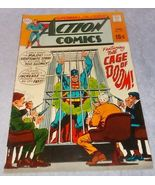 Vintage Action Comic Book June 1969 No 377 DC Superman Cage of Doom - $9.95