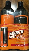 Matrix Total Results Mega Sleek Shampoo Conditioner 33.8 ML Liter Duo - $33.33