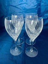 "Longchamp Cristal D' Arques Stemmed Wine Glasses Set of Four 7-1/2""  - $37.39"
