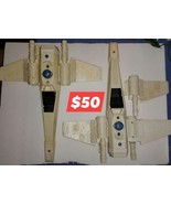 Lot of 2 Vintage Star Wars X Wing Fighters, 1 has broken wing AS IS! $50 - $50.00