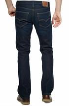 BRAND NEW LEVI'S 527 MEN'S PREMIUM CLASSIC SLIM BOOTCUT LEG JEANS BLUE 527-0490 image 2
