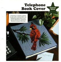 Plastic Canvas Patterns - Telephone Book Cover - Bazaar Idea - All-Stars - $1.50