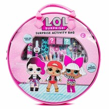 ❤️ LOL! Surprise Surprise Activity Bag Over 300 Pieces Arts Crafts Set ❤️ NIB