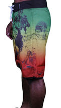 T.I.T.S. Two In The Shirt Hot Girl Beach Jamaica Swim Surf Board Shorts Size: 28 image 4
