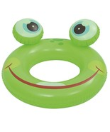 Pool Central 19.5IN Green Frog Children's Inflatable Pool Inner Tube Ring - $5.68