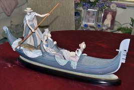 Details about  Lladro Gondola Porcelain Figurine Gloss Finish Excellent Conditi - $1,695.00