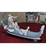 Details about  Lladro Gondola Porcelain Figurine Gloss Finish Excellent... - $1,695.00