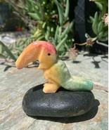 "Rainbow Onyx Carved Stone Toucan Bird Crystal Healing Spirit Animal Zoo 2.75"" - $17.20"