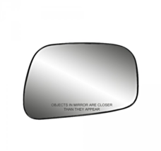 Fits *12-17 Camry 13-16 Avalon Right Pass Convex Mirror Glass Lens w// Adhesive
