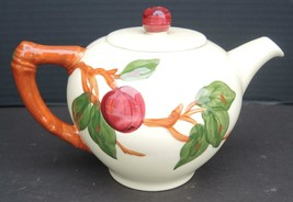 Vintage Franciscan Four Cup Teapot - Apple Pattern - $26.59