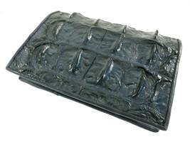 PELGIO Genuine Crocodile Backbone Skin Leather Passport Holder ID Wallet... - $45.80