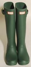 Neuf Hunter Bottes Femmes Original Grand Vert ( Hgr ) Pluie Divers Taille image 2