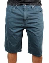 Levi's 508 Men's Premium Cotton Regular Taper Shorts Straight Fit Blue image 1