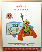 Hallmark: Duck Dodgers In The 24 1/2th Century - Daffy Duck - 2017 Ornament - $16.83