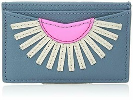 NWT Fossil Women's Gift Card Case Wallet, Faded Indigo - $18.02
