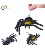 10*17cm Halloween Toys Spider Simulation Toys Tricky Scary Toy Prank Gif... - $13.49