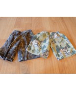 Toddler Size 3 Custom Homemade Flannel Boxer Pajama Shorts Camouflage Wo... - $10.00
