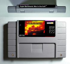 Garry Kitchen's Super Battletank War in the Gulf Super Nintendo SNES Act... - $20.99