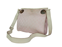 Authentic GUCCI GG Web Canvas Leather Pink Cross-Body Shoulder Bag GS17242L - $189.00