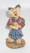Boyd Bearstone Resin Bears Justina The Choir Singer Figurine #228624 Spe... - $9.46
