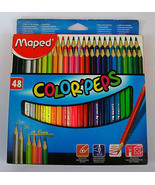 Maped Color'peps  Colour Pencils  48 Shades  Assorted Colors - $28.03
