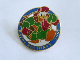 Disney Trading Pins  2828 DLR Cast Member - Happy Holidays 1999 (Donald) - $9.50