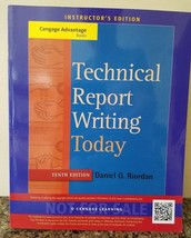 Technical Report Writing Today Instructor's Edition Daniel Riordan 10th ... - $128.69