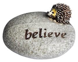 Top Collection Miniature Fairy Garden and Terrarium Believe Hedgehog Sto... - $11.20