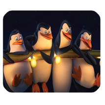 Mouse Pad Penguins Of Madagascar American Animation Cartoon Movie Fantasy - $113,93 MXN
