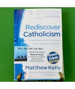 """2010 Revised 2nd Edition Softcover Book Titled """"Rediscover Catholicism"""" - $1.95"""