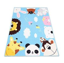 Soft Cute Animal Baby Play Mat 51 By 39 Inches