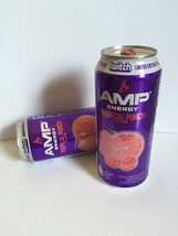 Amp Energy Drink Tropical Punch New 2016 Flavor Twitch Can. Total 2 Full... - $18.99