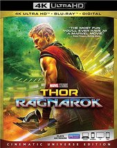 Thor Ragnarok [4K Ultra HD + Blu-ray + Digital, 2018]