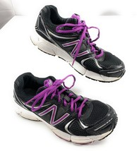 New Balance 490v2 Running Shoes Black, Purple, Silver Sneakers Women's 7... - $28.70