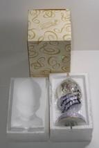 San Francisco Music Box Company Joan Pilallis Amethyst Carousel Glitter ... - $29.99