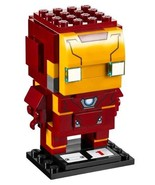 LEGO BrickHeadz IRON MAN #41590 Building Kit ~ 96 Pieces ~ Authentic Det... - $17.94