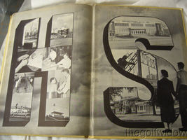 1954 Union Endicott High School Yearbook - Thesaurus image 10