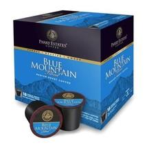 18 Count Box Parry Estates Blue Mountain Blend Coffee Single Serve K-Cup... - $29.70