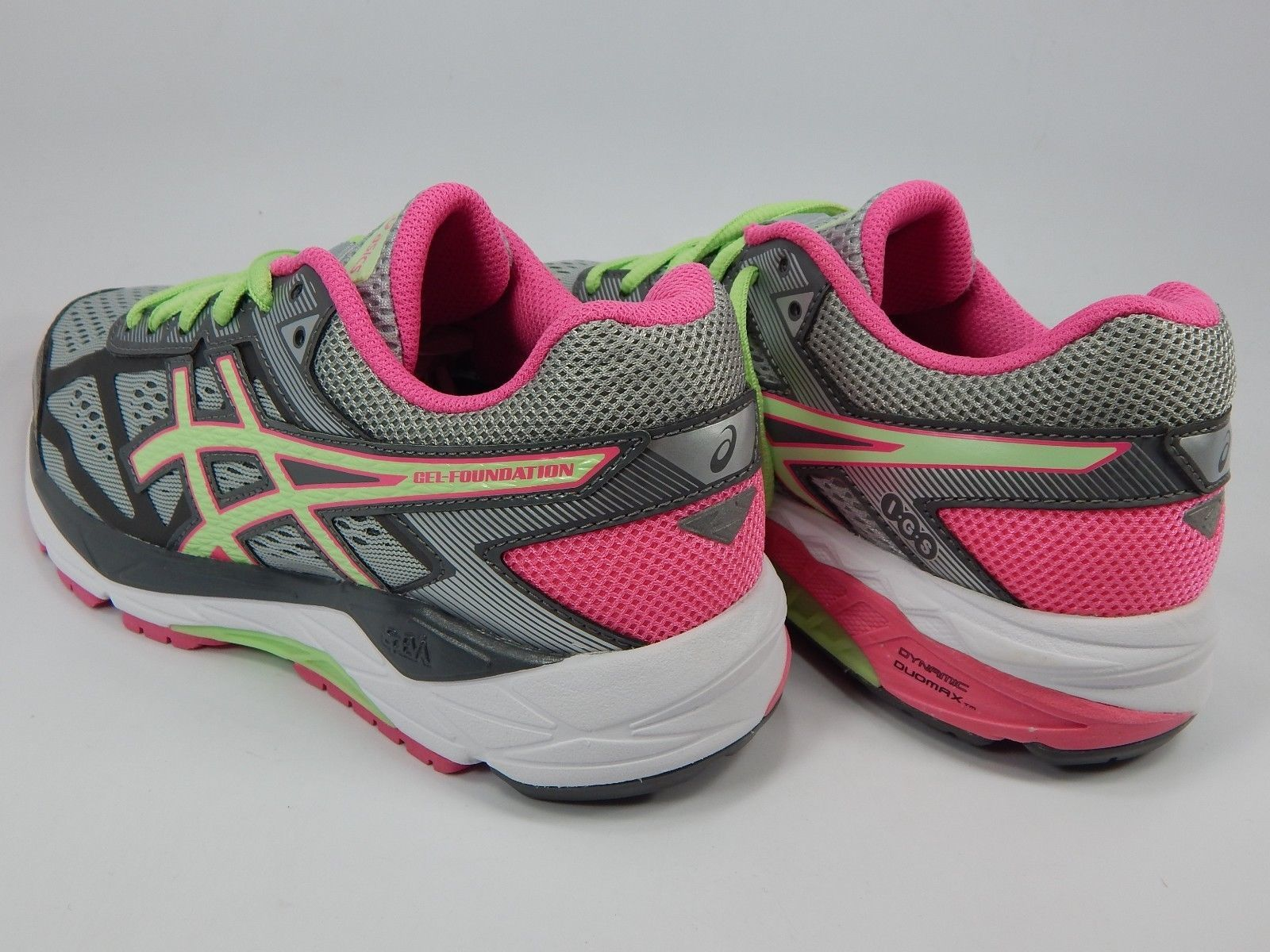Asics Gel Foundation 12 Size US 6 M (B) EU 37 Women's Running Shoes Gray T5H5N