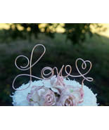 Pop Up Wedding Decor Love Cake Topper - $29.00