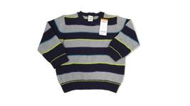 GYMBOREE Boys Girls Cotton Knit Sweater Black Gray Yellow Teal Size 2T 2 New $32 - $15.20