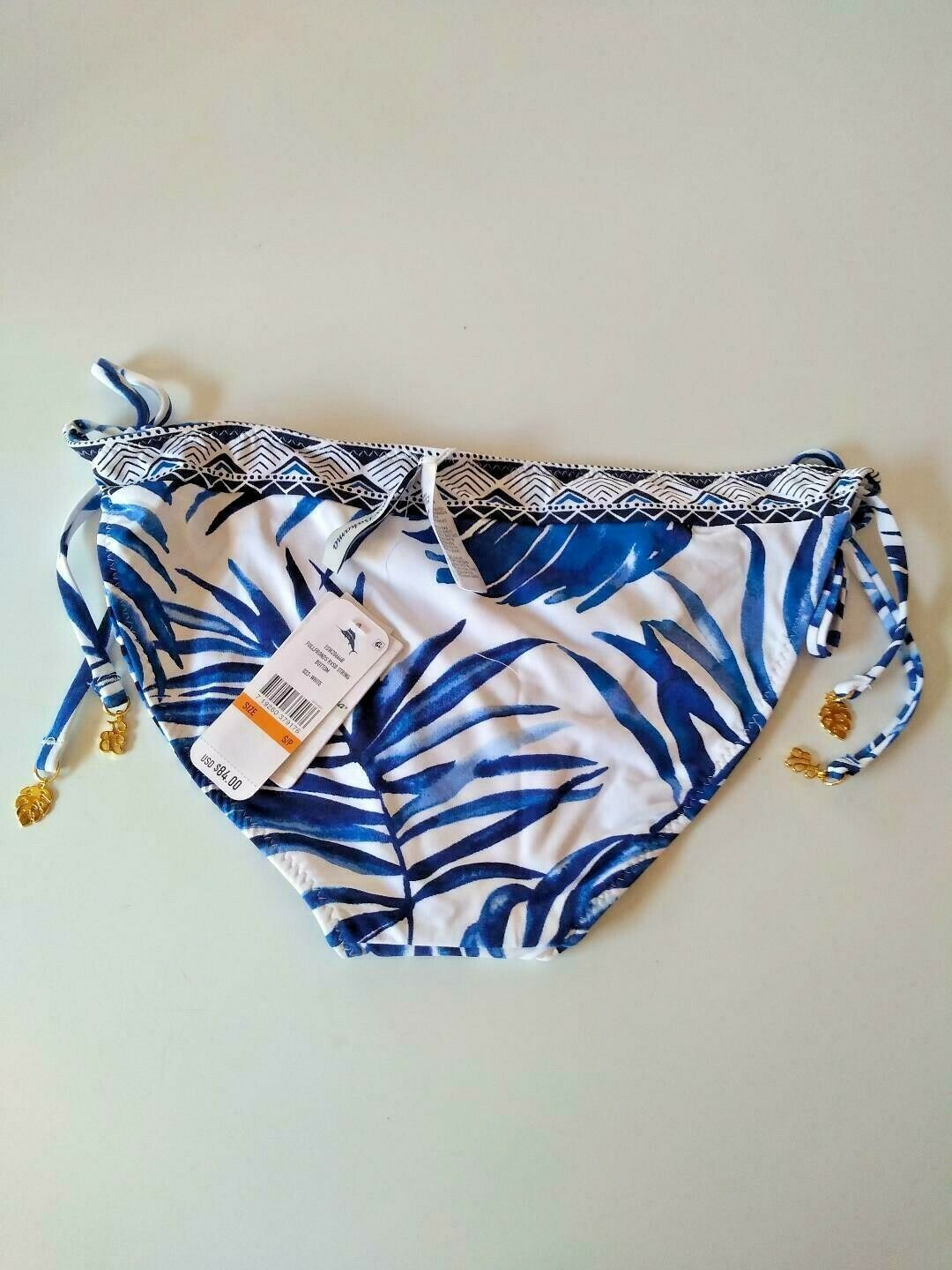 Tommy Bahama Full Fronds Reversible String Bottom Size Small