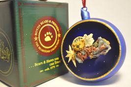 Boyds Bears Zoe... Starlight Christmas 25951  Ornament  Bearstone Collection - $25.38