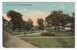 Hyde Park Muskogee Oklahoma 1910s postcard - $5.94
