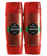 2 Old Spice Ambassador Scent Of Excellence Red Collection Body Wash 16 oz - $24.99