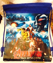 Marvel Avengers Drawstring Backpack Sling Tote Boys New!  More Character... - $6.25