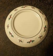 Longaberger Pottery Holly Trivet USA - $7.40